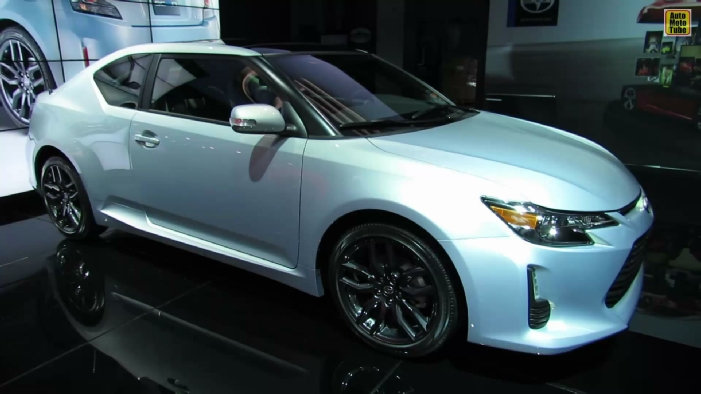 2014 scion tc silver ignition 10 series at 2013 ny auto show. Black Bedroom Furniture Sets. Home Design Ideas