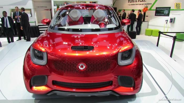 2013 Smart For Stars Concept At 2012 Paris Auto Show