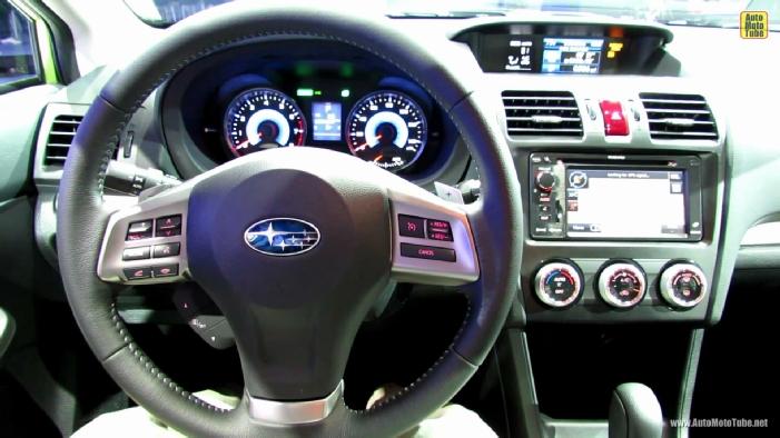 2014 Subaru Xv Crosstrek Hybrid At 2013 Ny Auto Show