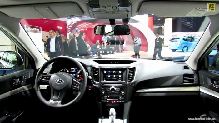 2014 Subaru Outback Boxer Diesel At 2013 Frankfurt Motor Show