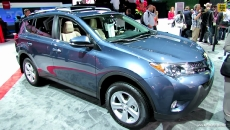 2014 Toyota Rav4 XLE at 2013 Los Angeles Auto Show