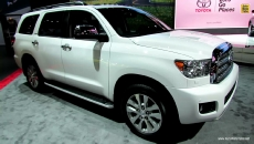 2014 Toyota Sequoia Limited at 2013 Los Angeles Auto Show