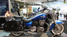 2014 Triumph Thunderbird LT at 2013 EICMA Milan Motorcycle Exhibition