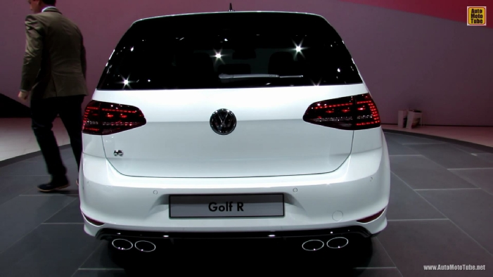 2014 Volkswagen Golf R Debut At 2013 Frankfurt Motor Show