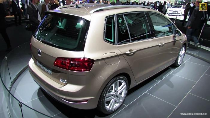 2014 Volkswagen Golf Sportsvan Tdi At 2013 Frankfurt Motor Show