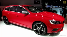 2014 Volvo V60 T6 AWD R-Design at 2013 NY Auto Show