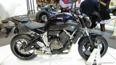 2014 Yamaha MT-07 at 2013 EICMA Milan Motorcycle Exhibition