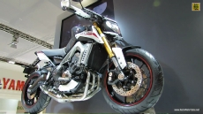 2014 Yamaha MT-09 SR Street Rally at 2013 EICMA Milan Motorcycle Exhibition