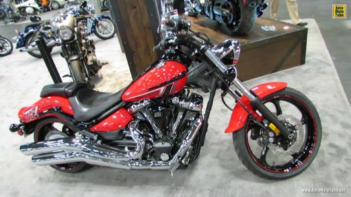 2014 Yamaha Raider S XV1900 At 2013 New York Motorcycle Show