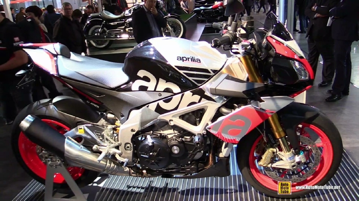 2015 Aprila Tuono V4 1100 Factory at 2014 EICMA Milan Motorcycle ...
