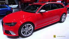 2015 Audi RS6 Avant at 2015 Geneva Motor Show