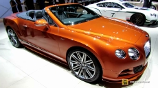 2015 Bentley Continental GT Speed at 2014 New York Auto Show