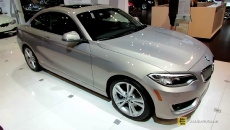 2015 BMW 228i Coupe at 2014 Chicago Auto Show