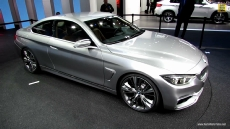 2015 BMW 4-Series Coupe at 2013 Detroit Auto Show
