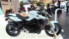 2015 BMW F800R at 2014 EICMA Milan Motorcycle Exhibition