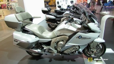2015 BMW K1600GTL Exclusive at 2014 EICMA Milan Motorcycle Exhibition