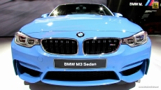 2015 BMW M3 Sedan at 2014 Detroit Auto Show