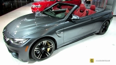 2015 BMW M4 Convertible at 2014 New York Auto Show