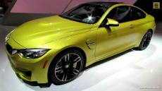 2015 BMW M4 Coupe at 2014 Detroit Auto Show