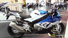 2015 BMW S1000RR at 2014 EICMA Milan Motorcycle Exhibition