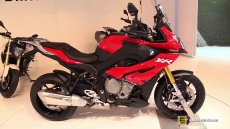 2015 BMW S1000XR Red Colour at 2014 EICMA Milan Motorcycle Exhibition