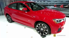 2015 BMW X4 35i xDrive at 2014 New York Auto Show
