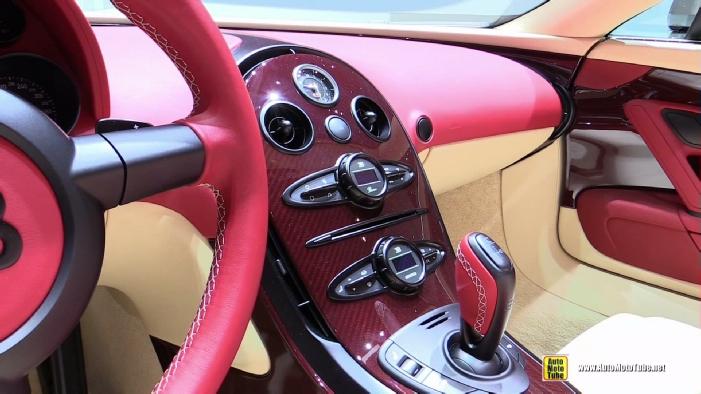2015 bugatti veyron grand sport vitesse interior ostatni. Black Bedroom Furniture Sets. Home Design Ideas