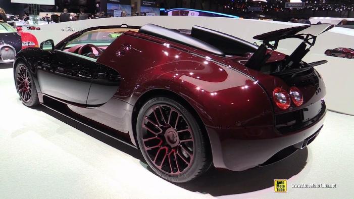 2015 Bugatti Veyron Grand Sport Vitesse La Finale 450 At 2015 Geneva