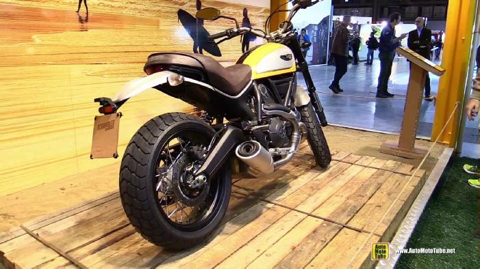 2015 Ducati Scrambler Classic At 2014 Eicma Milan Motorcycle Exhibition