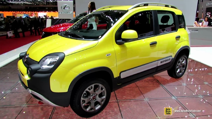 2015 fiat panda cross at 2014 geneva motor show. Black Bedroom Furniture Sets. Home Design Ideas