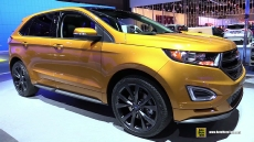 2015 Ford Edge Sport AWD at 2014 Los Angeles Auto Show