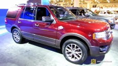 2015 Ford Expedition King Ranch at 2014 New York Auto Show