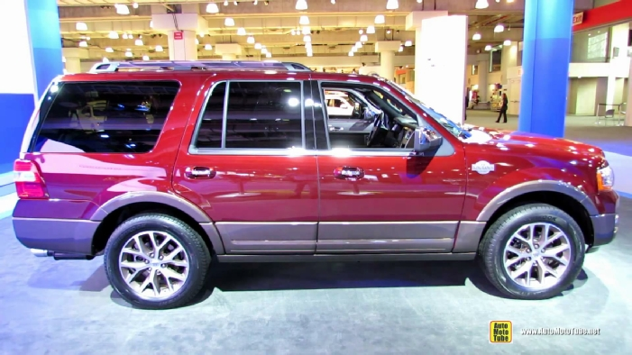 2015 ford expedition king ranch at 2014 new york auto show. Black Bedroom Furniture Sets. Home Design Ideas