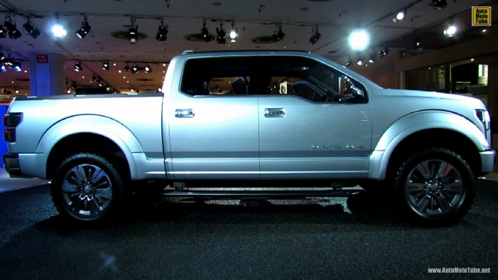 2015 ford f 150 atlas concept at 2013 ny auto show. Cars Review. Best American Auto & Cars Review