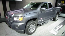 2015 GMC Canyon All Terrain at 2014 Detroit Auto Show