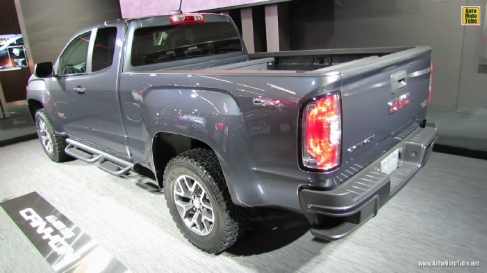 2015 gmc canyon all terrain at 2014 detroit auto show. Black Bedroom Furniture Sets. Home Design Ideas