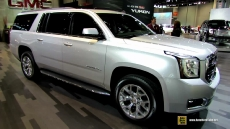 2015 GMC Yukon XL at 2014 Chicago Auto Show