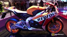 2015 Honda CBR1000RR Fireblade Repsol at 2014 EICMA Milan Motorcycle Exhibition
