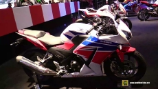 2015 Honda CBR300R at 2014 EICMA Milan Motorcycle Exhibition