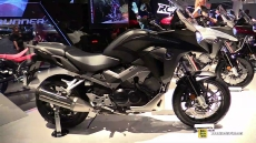 2015 Honda Crossrunner ABS at 2014 EICMA Milan Motorcycle Exhibition