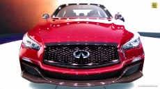 2015 Infiniti Q50 Eau Rouge at 2014 Detroit Auto Show
