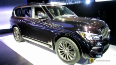 2015 Infiniti QX80 Limited at 2014 New York Auto Show