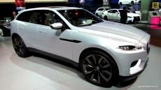 2015 Jaguar CX-17 SUV at 2013 Los Angeles Auto Show