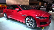 2015 Jaguar XE S at 2014 Paris Auto Show