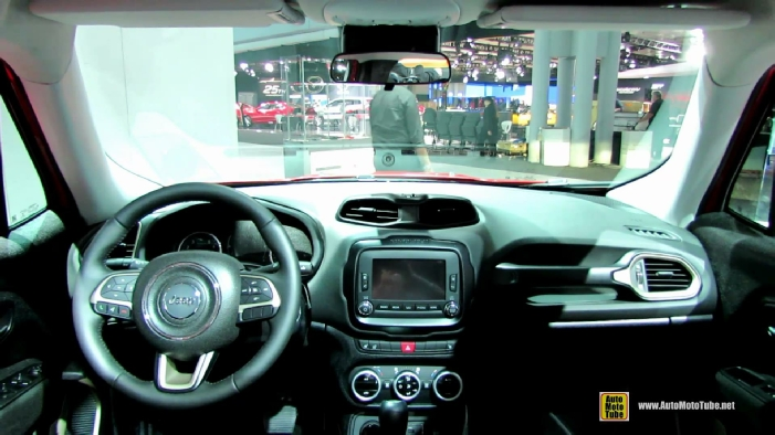 Jeep Renegade Interior >> 2015 Jeep Renegade Latitude at 2014 New York Auto Show