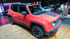 2015 Jeep Renegade Trail Hawk Diesel at 2014 Geneva Motor Show