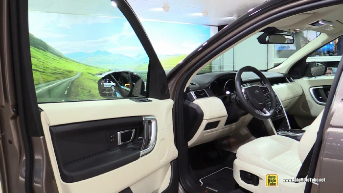 interieur discovery sport
