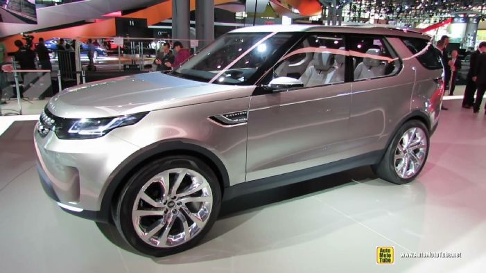 2015 Land Rover Discovery Vision Concept At 2014 New York Auto Show