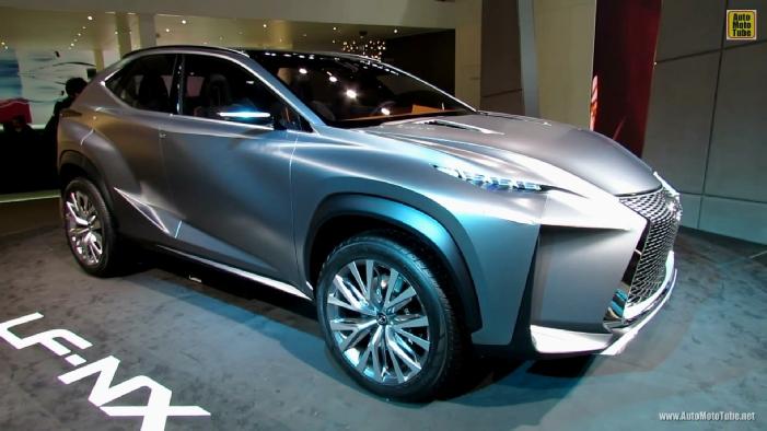 2015 Lexus LF-NX SUV Concept at 2013 Frankfurt Motor Show