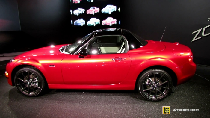 2015 mazda mx 5 miata 25th anniversary edition at 2014 new york auto show. Black Bedroom Furniture Sets. Home Design Ideas